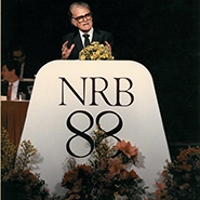 Billy Graham speaking at NRB 1988