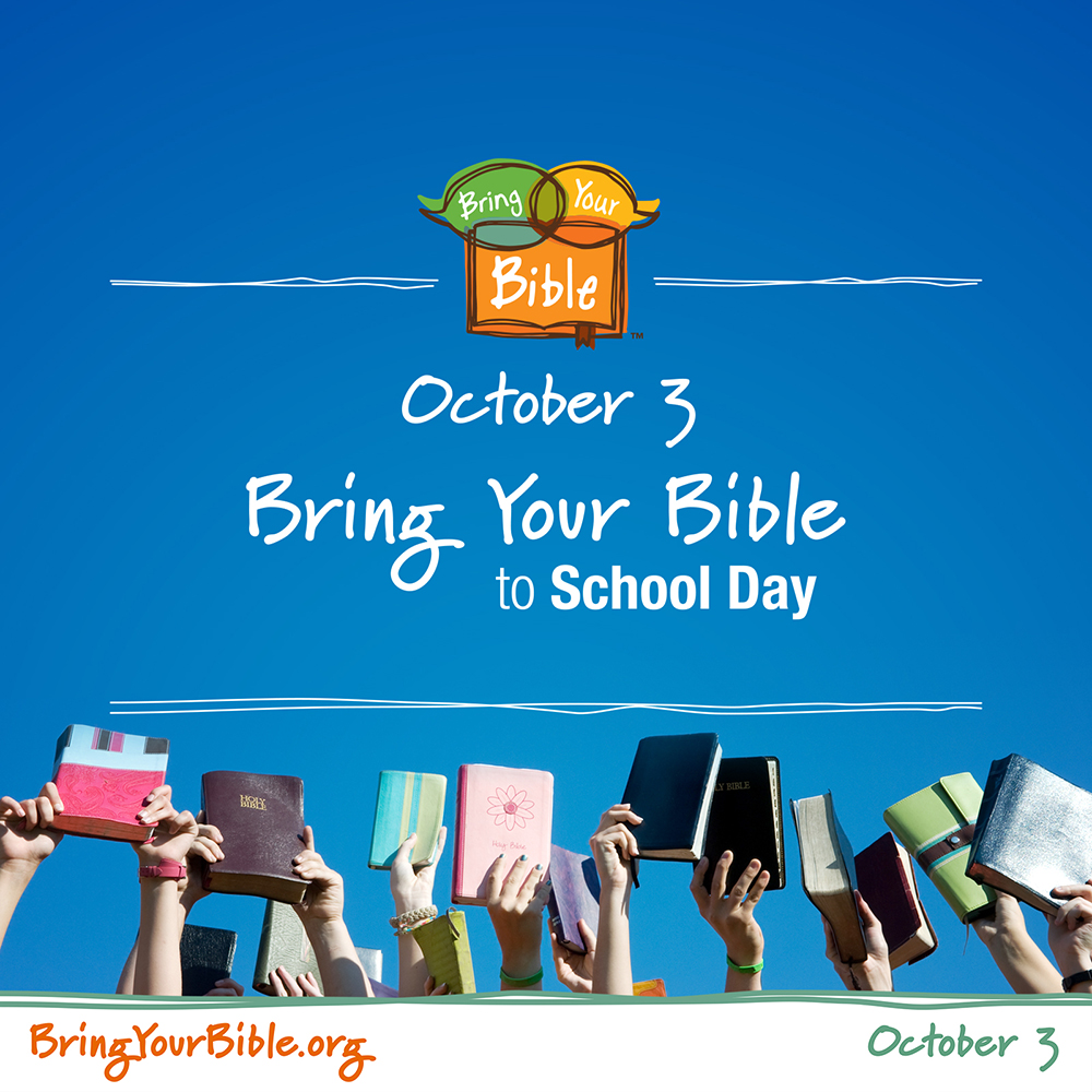 Bring your Bible to School 2019