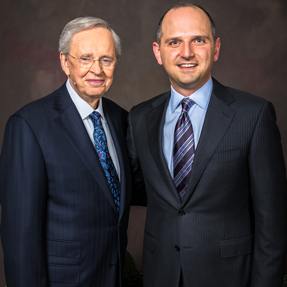Dr. Charles Stanley and Rev. Anthony George