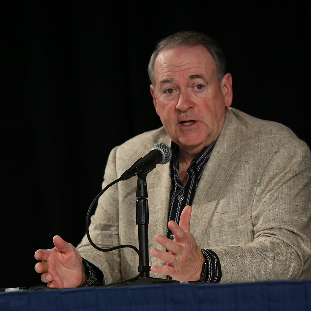 Gov. Mike Huckabee speaking at Proclaim 19