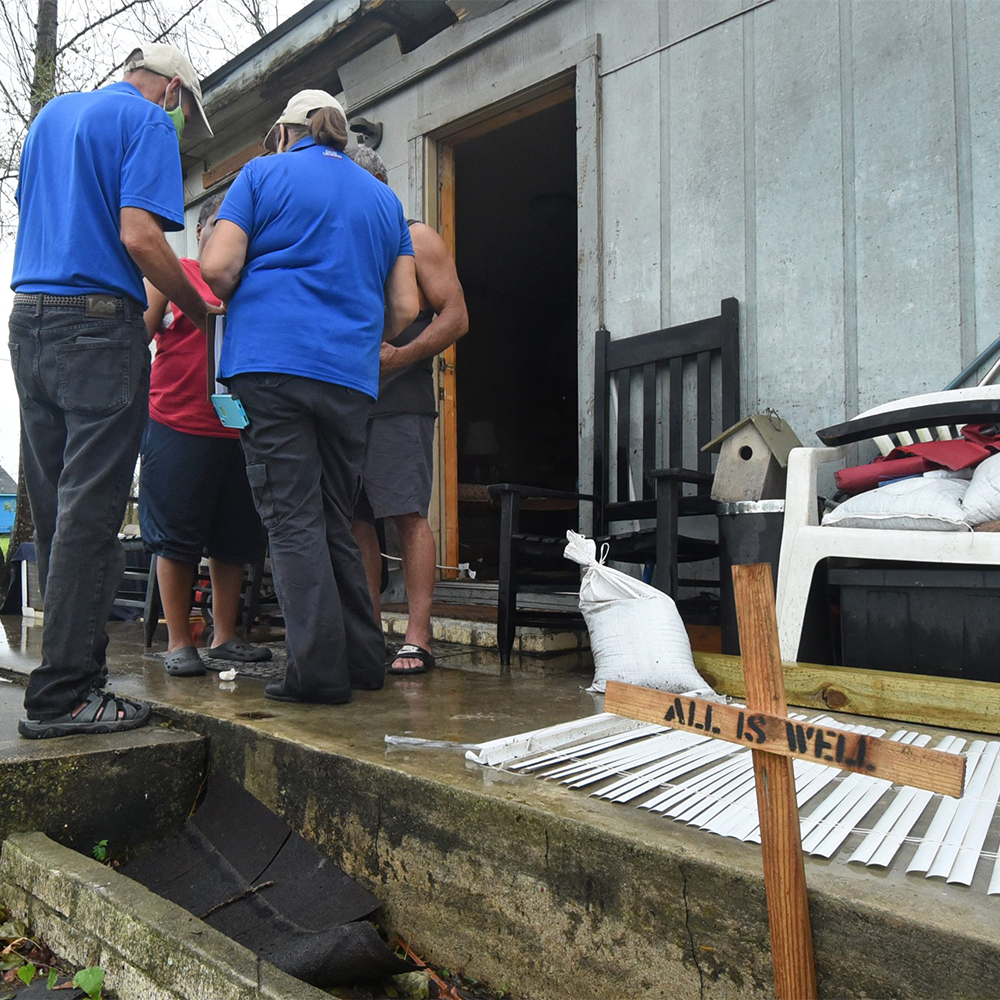 BGEA helping after Hurricane Laura