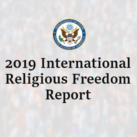 2019 International Religious Freedom Report