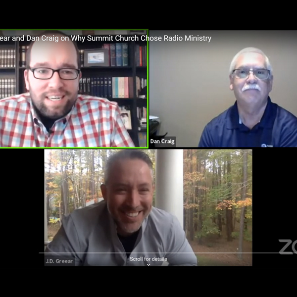 JD Greear and Dan Craig NRB Live with Dan Darling