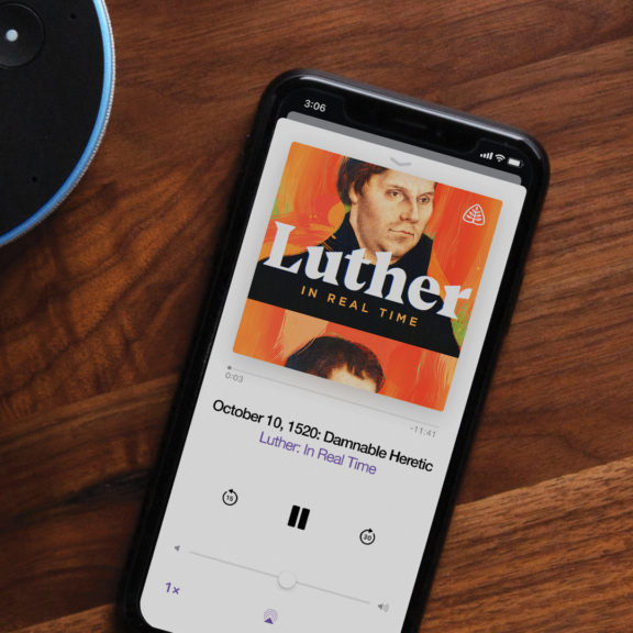 Ligonier Ministries Luther Podcast