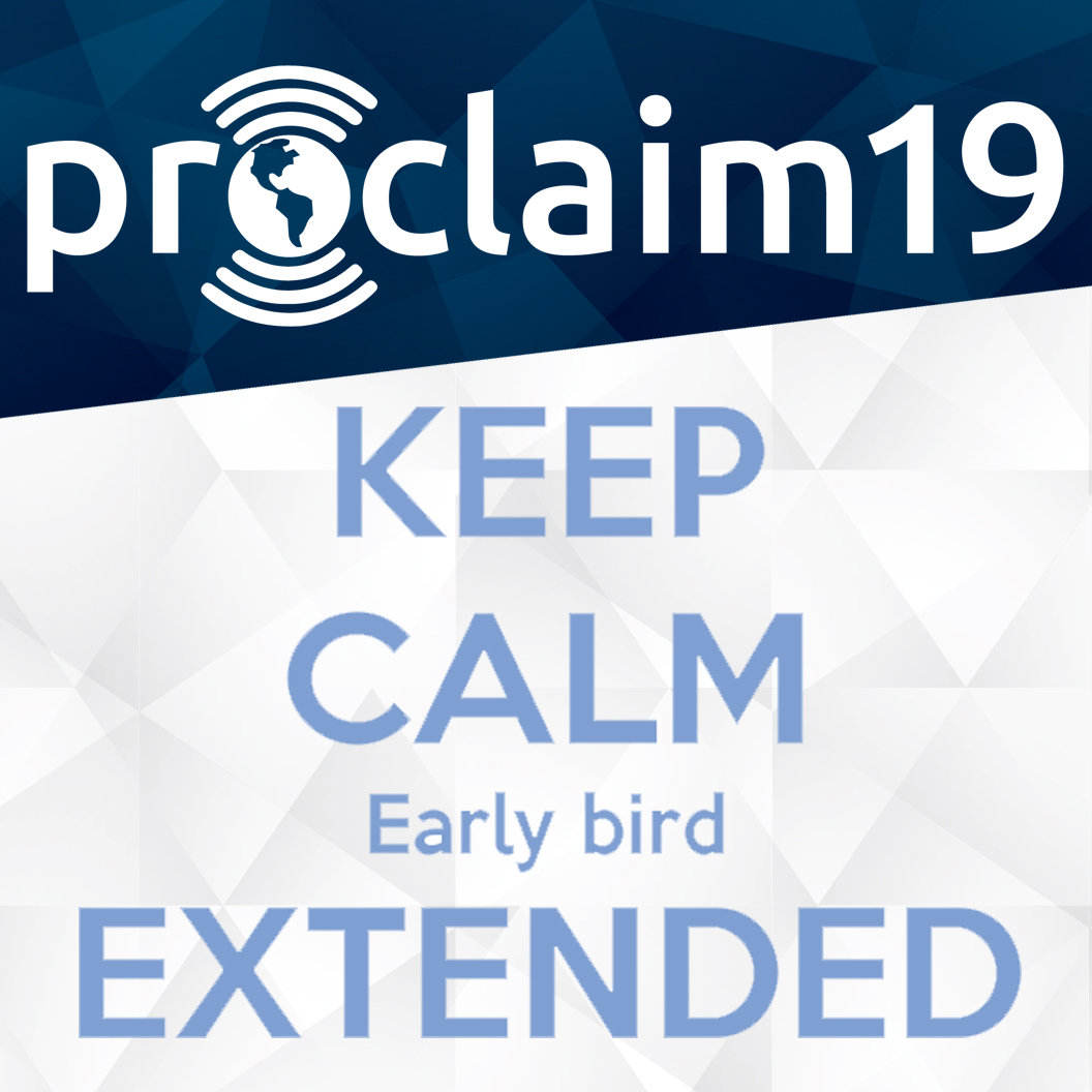 Early Bird rate Extention