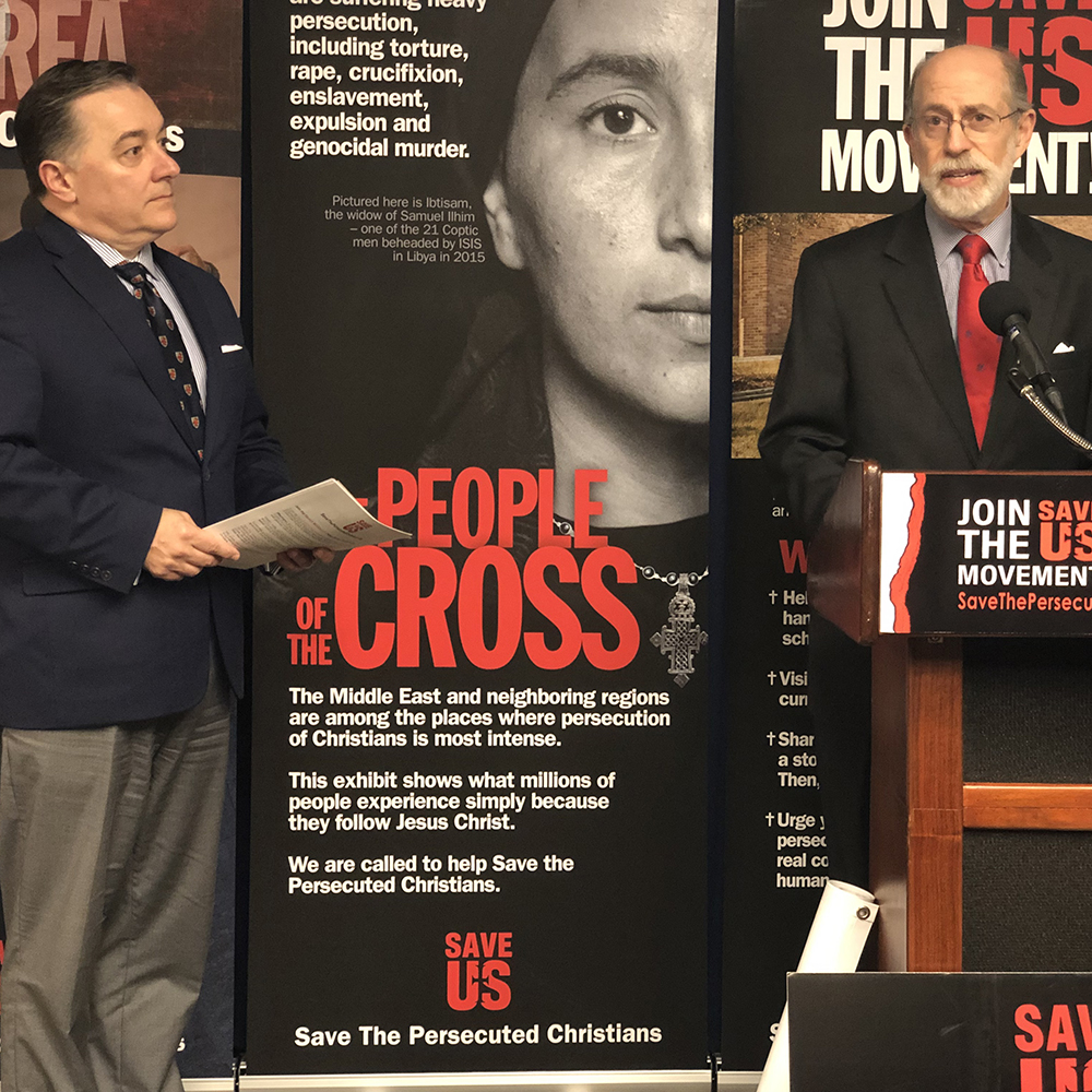 Save the Persecuted Christians Press Conference