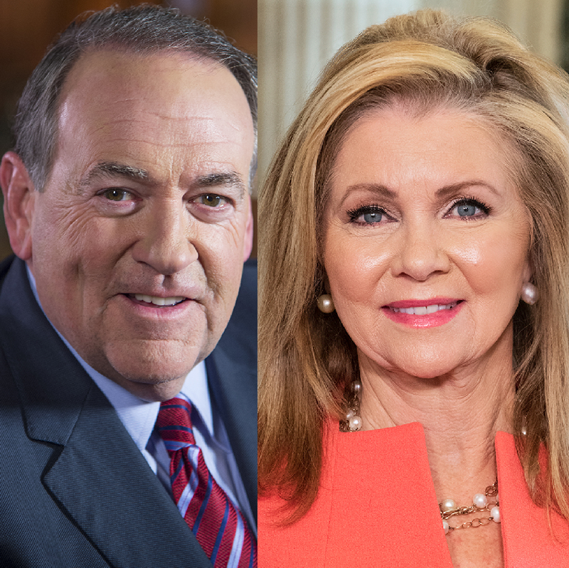 Huckabee and Blackburn